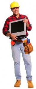 """Every contractor should have a computer as part of his """"toolbelt"""""""