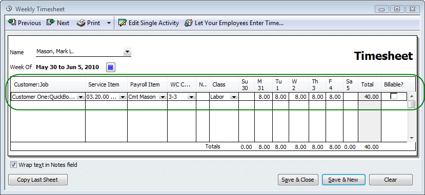 QuickBooks Tip - Job Costing Starts With A Simple Item ...
