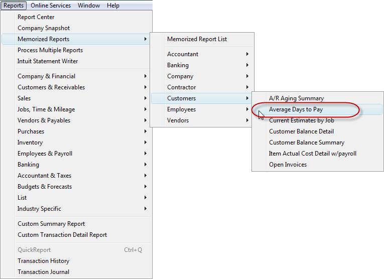 memorized reports improve efficienty