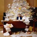 buried in yearend paperwork