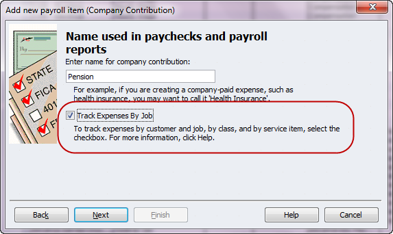 track expenses by job