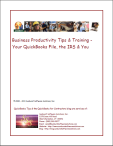 your quickbooks file, the irs & you ebook