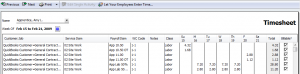 complete your timesheet