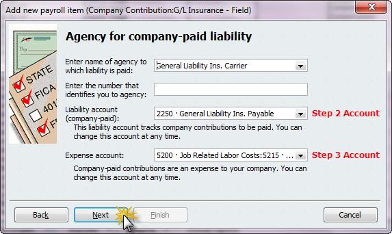 company paid liability
