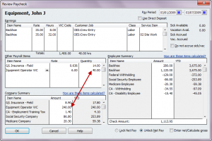 workers comp auto calculated on hours