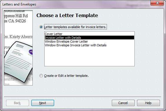 quickbooks invoice templates .