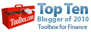 Toolbox for Finance Top 10 blogger 2010