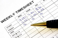 tracking timesheet hours