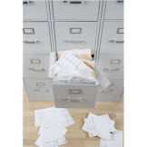 Payroll Record Keeping Requirements overflowing