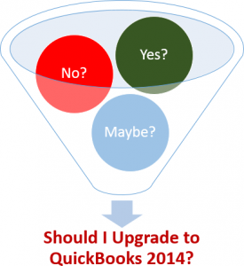 Should I upgrade to QuickBooks 2014?  Frequent questions and answers