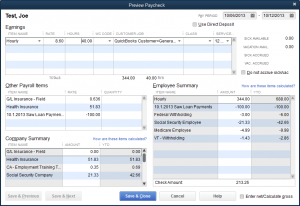 employee loan payment paycheck