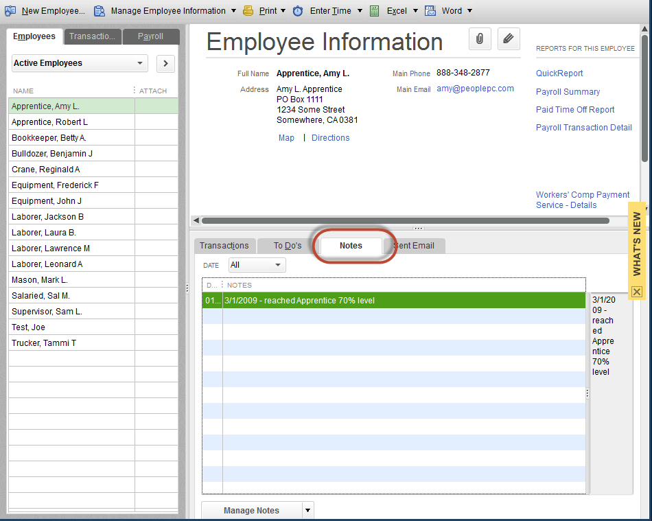 """QuickBooks Tip: How to find """"Notes"""" after an Upgrade"""