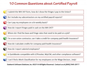 10 common questions about certified payroll