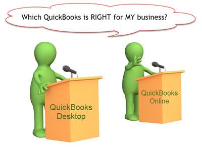 The Great Debate – QuickBooks Desktop vs. QuickBooks Online